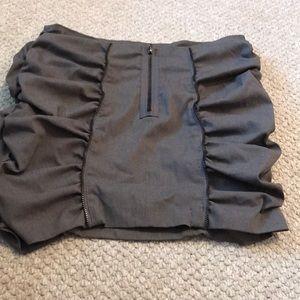 BISOU BISOU Sexy Zippered Skirt